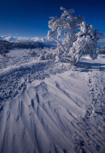 Зимние фото пейзажи из Крыма - №24
