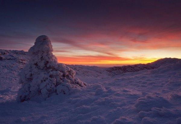Зимние фото пейзажи из Крыма - №32