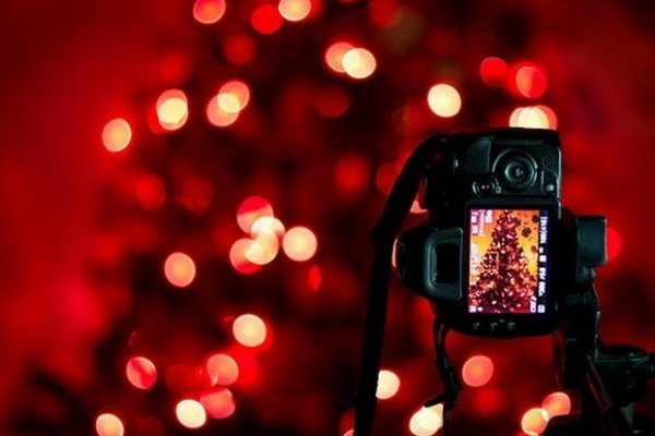 Урок фотографии. Эффект боке для новогодних идей - №3