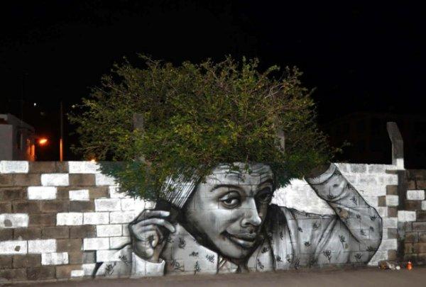 Новости в фотографиях - Лучшая подборка стрит-арт 2013 - №8