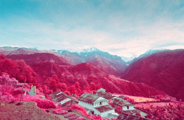 Шон Линч. Инфракрасные фото пейзажи Непала и другие работы  - №1
