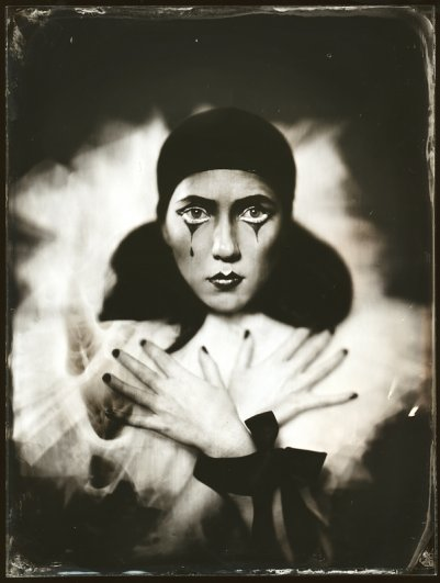 Андрей Шерстюк. Фото портреты в старинной технике амбротипии - №3