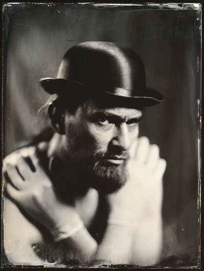 Андрей Шерстюк. Фото портреты в старинной технике амбротипии - №7