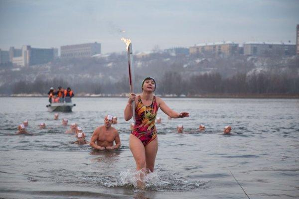Новости в фотографиях - Олимпийский огонь 2014 глазами иностранных журналистов - №12