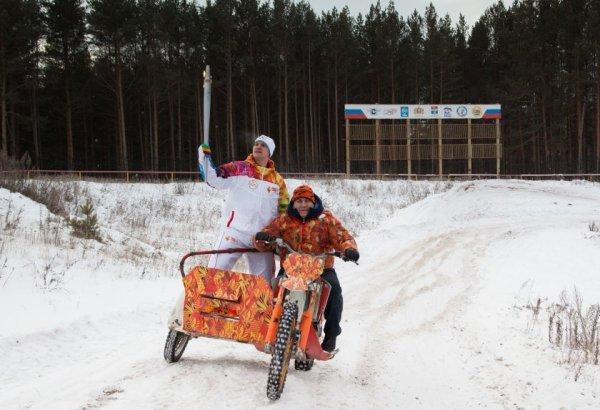 Новости в фотографиях - Олимпийский огонь 2014 глазами иностранных журналистов - №24
