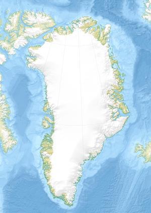 Автор: Uwe Dedering. Карта Гренландии