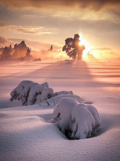 Восхитительные фото пейзажи из Германии. Andreas Wonisch - №18
