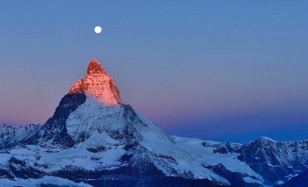Лучшие фото Альпийских гор Маттерхорн - №1