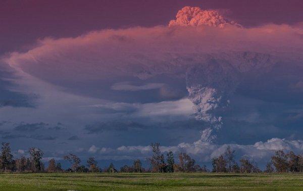 Лучшие фото кадры извержения вулканов мира - №4