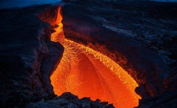 Лучшие фото кадры извержения вулканов мира - №8