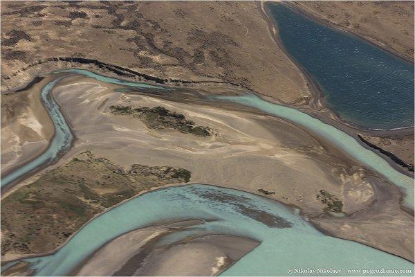 Аргентина, вид с воздуха - южноамериканские фото пейзажи - №4