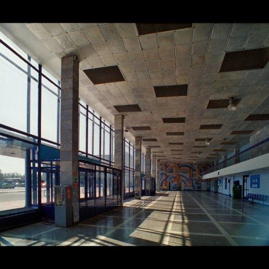 Зал курганского аэропорта