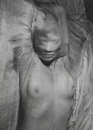 Эрвин Блюменфельд. Обнаженная под влажным шелком. Париж. 1937. Швейцария, частная кол