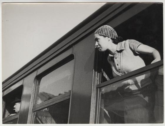Андре Штайнер. Лили Штайнер, 1935. Бромосеребряно-желатиновый отпечаток. © Nicole Bajolet-Steiner