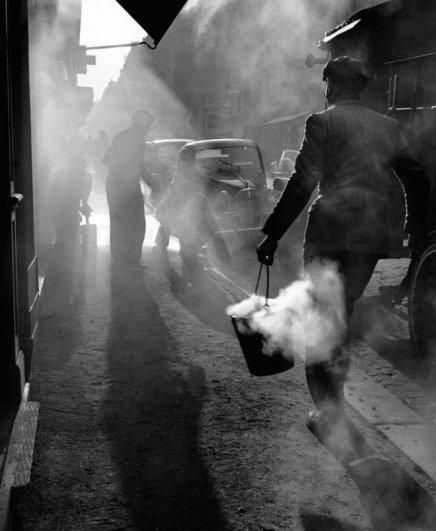 © Edouard Boubat - освещение и свет в фотографии