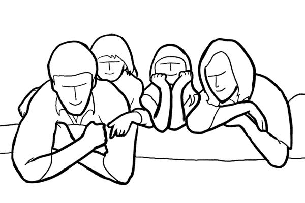 групповой портрет фото