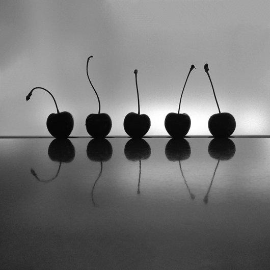 Dancing Cherries by Elin Liavik