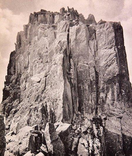 Необыкновенные изображения сделаные первыми в мире альпинизма фотографами..!!! - №9
