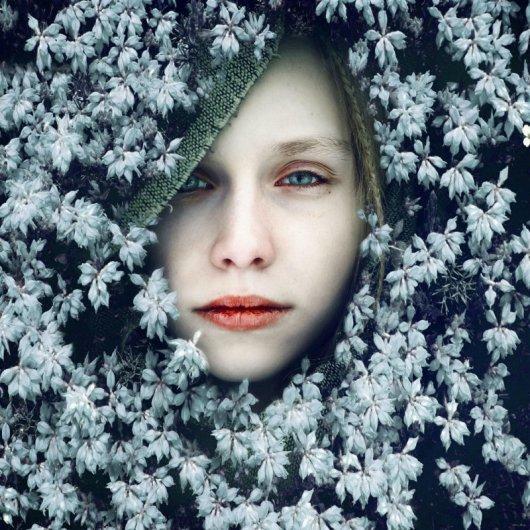 портрет девушки фото