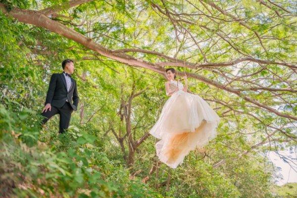 Свадебная фотография - © John Lin