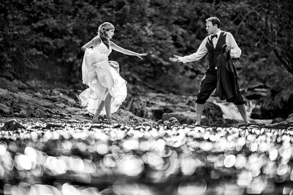 красивые свадебные фотографии - © Lanny Mann