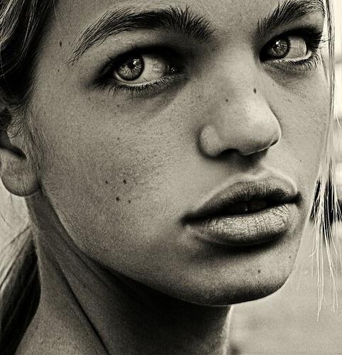 черно-белые портреты фото