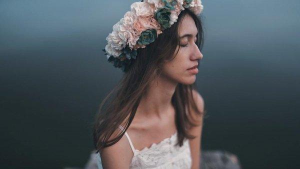 цветочные венки на голову