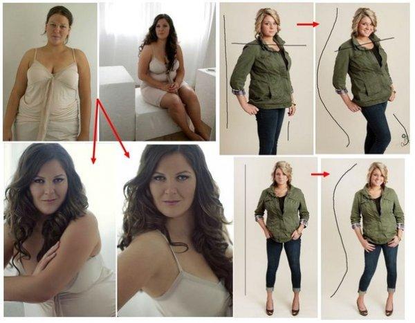 полные девушки модели