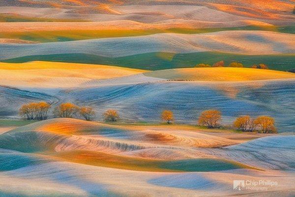 красота природы мира - Весенний снег, Палуз