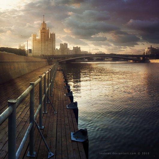 Городские пейзажи фотографии 16