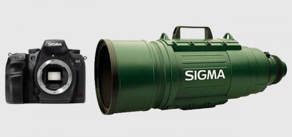 Камера и объектив