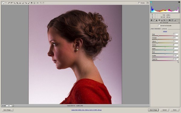 создаем портреты с двойной экспозицией – Шаг 1