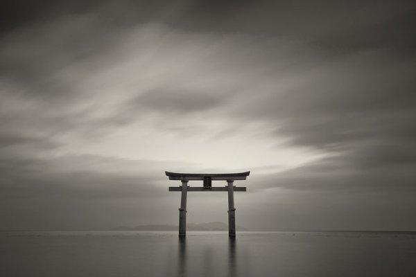 Шигеру Йошида, Япония. No 12. Из цикла «Граница», 2012. Фреско-печать.