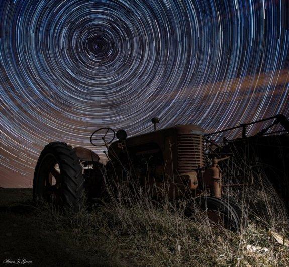 фото ночное небо