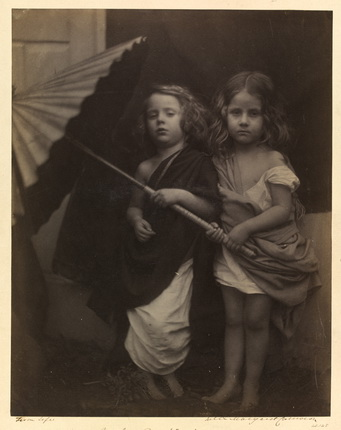 Джулия Маргарет Кэмерон. Пол и Вирджиния, 1864. © Victoria and Albert Museum, Лондон