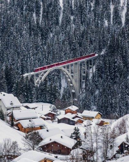 зимний город фото