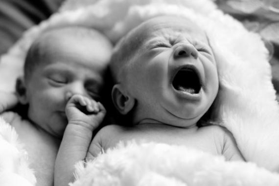 фотографии новорожденных детей