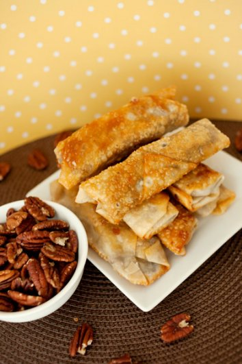 food_photography_pecan_pie_eggrolls